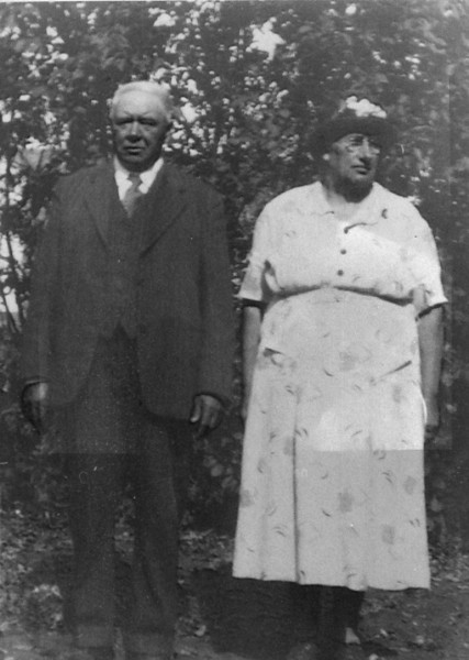 Grandpa and Grandma Neufeld