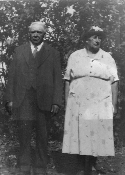 Grandpa and Grandma Neufeld