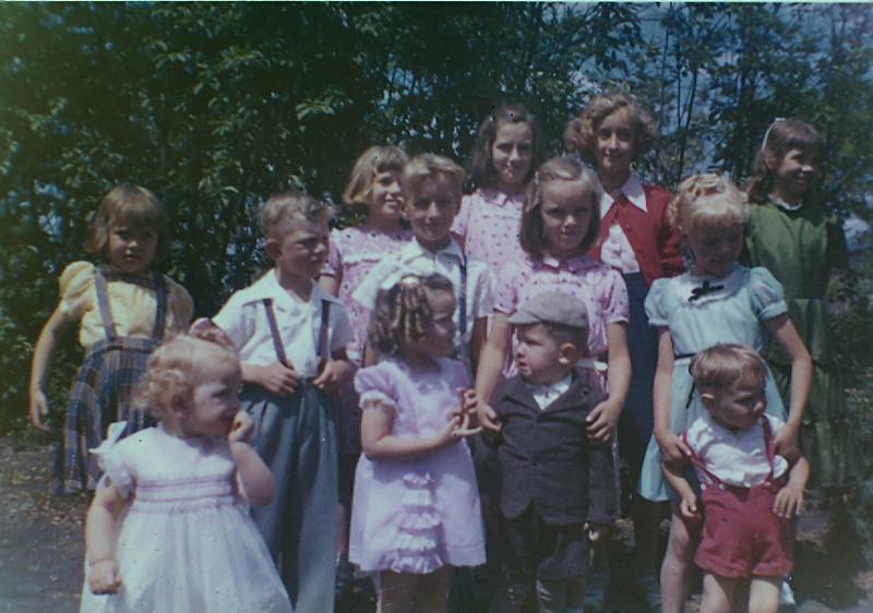 Neufeld Grandkids2 June 1954