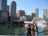 Boston skyline from main harbor