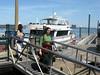Boston harbor, celebrating Opa's 100th