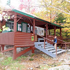 Roaring Brook camp ranger office.  Stop to check in.  Arriving 5:30 Monday, September 29th.