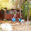 Our first cabin ar Roaring Brook.  Sleeps 6 and we have two other mates. Gina and Dave from S. Dakota.