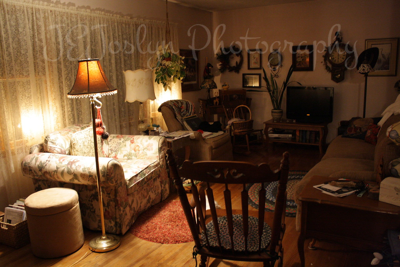 Living Room and Kitchen Changes, February 2010   View 1 - original