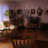 Living Room and Kitchen Changes, February 2010   View 1 - old furniture gone