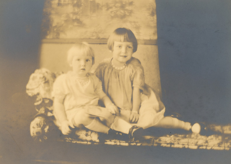 I think this is Jo (on the right) and her sister Irene.