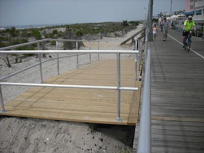 On the Boardwalk in Ocean City