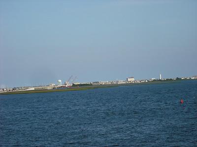 Looking across to Ocean City