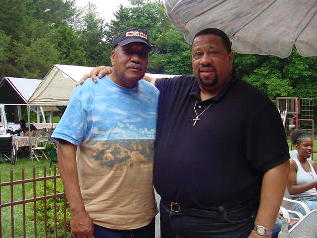 Tata Harris and his cousin David Harris