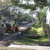 New bike trail being built next to our street