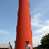 Dad and Ponce Inlet Lighthouse
