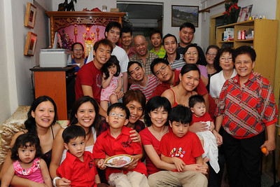 New Year Family Gathering - 26th January 2009
