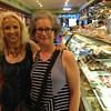 Diane and Lulu, at a local bakery looking for dessert.