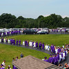 The Warwick HS Class of '14, filing in to the ceremony.