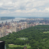 Central Park, from the Rockefeller Center observation deck.