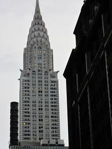 Chrysler building, I was trying to get those gargoyles that stick out