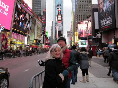 NEW YORK CHRISTMAS, Part One