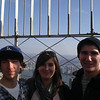 Empire State Building with nephews and niece, Kevin, Jennie, and James.