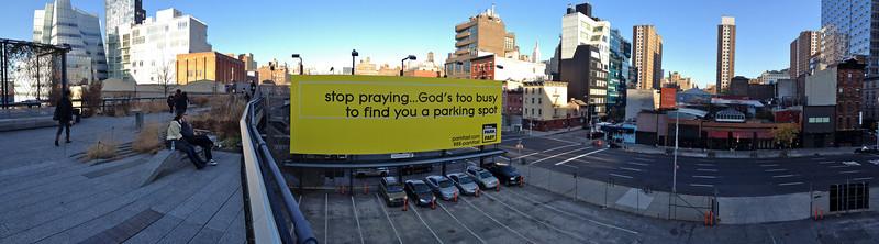 High Line, pano