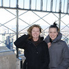 Sue and Rebecca on TOP of the Empire State Building
