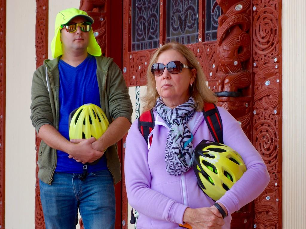 Rotorua - Biking at Temple