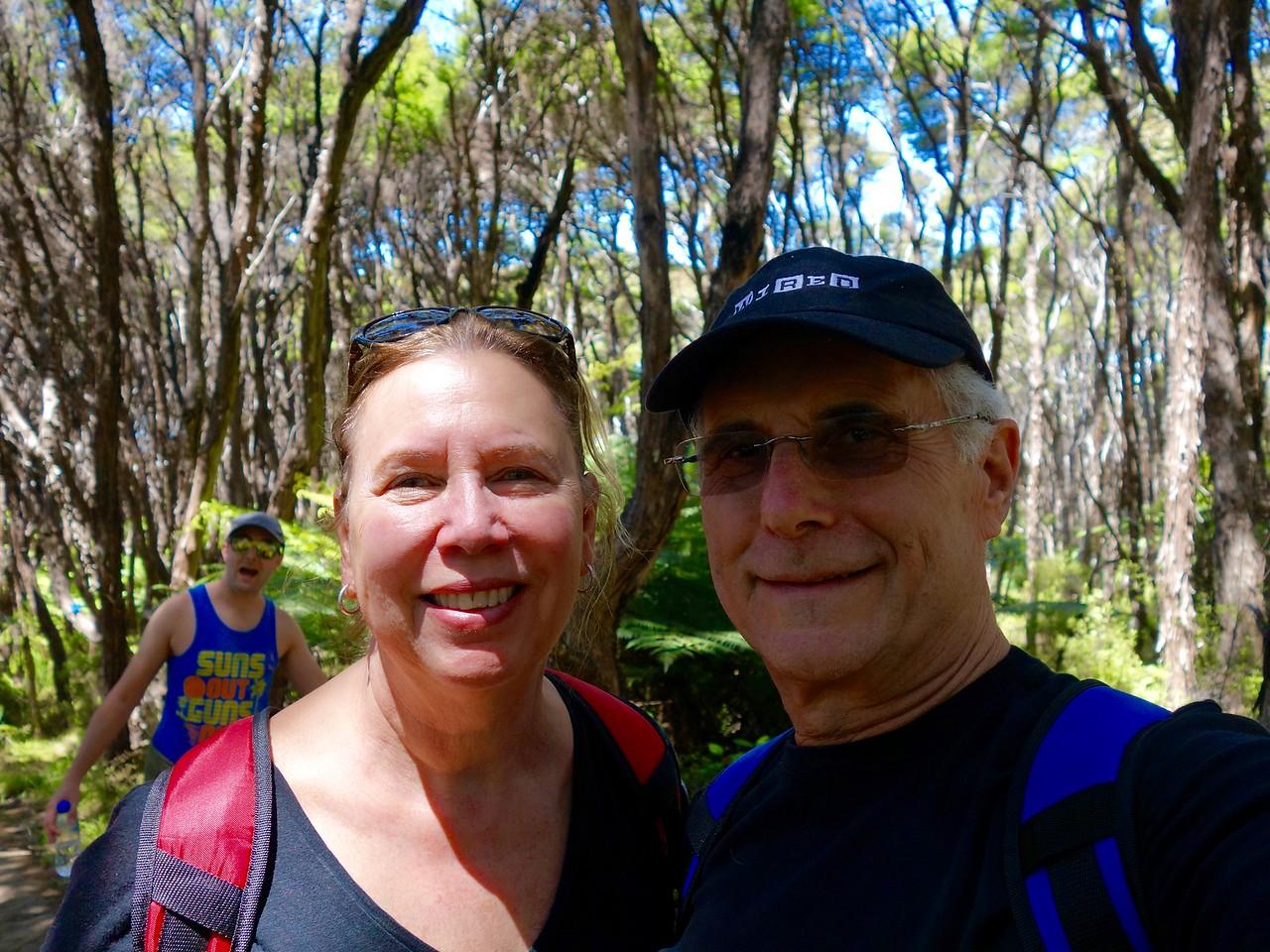 Abel Tasman - Hike (Selfie)