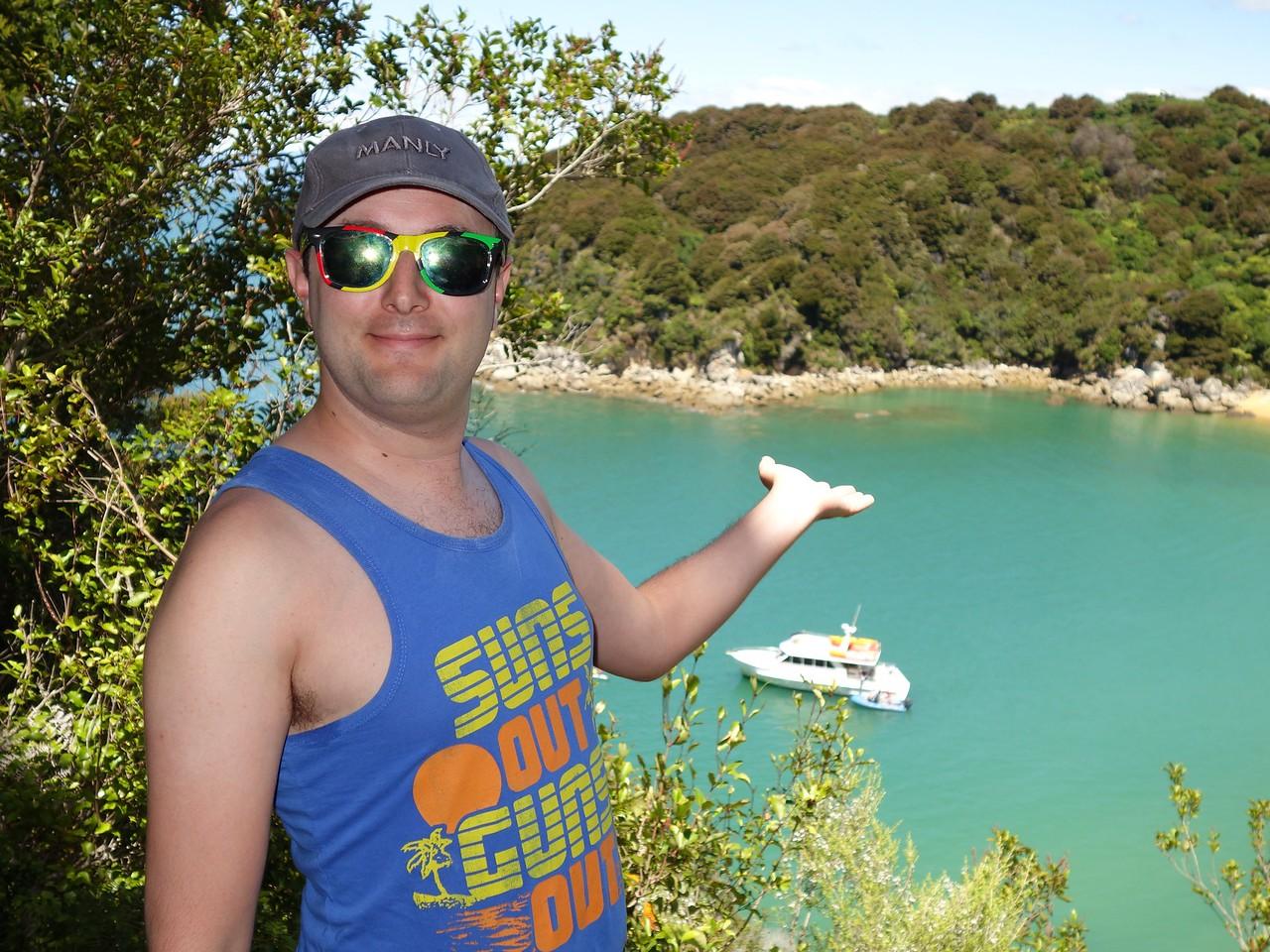 Abel Tasman - Lookout to Cove
