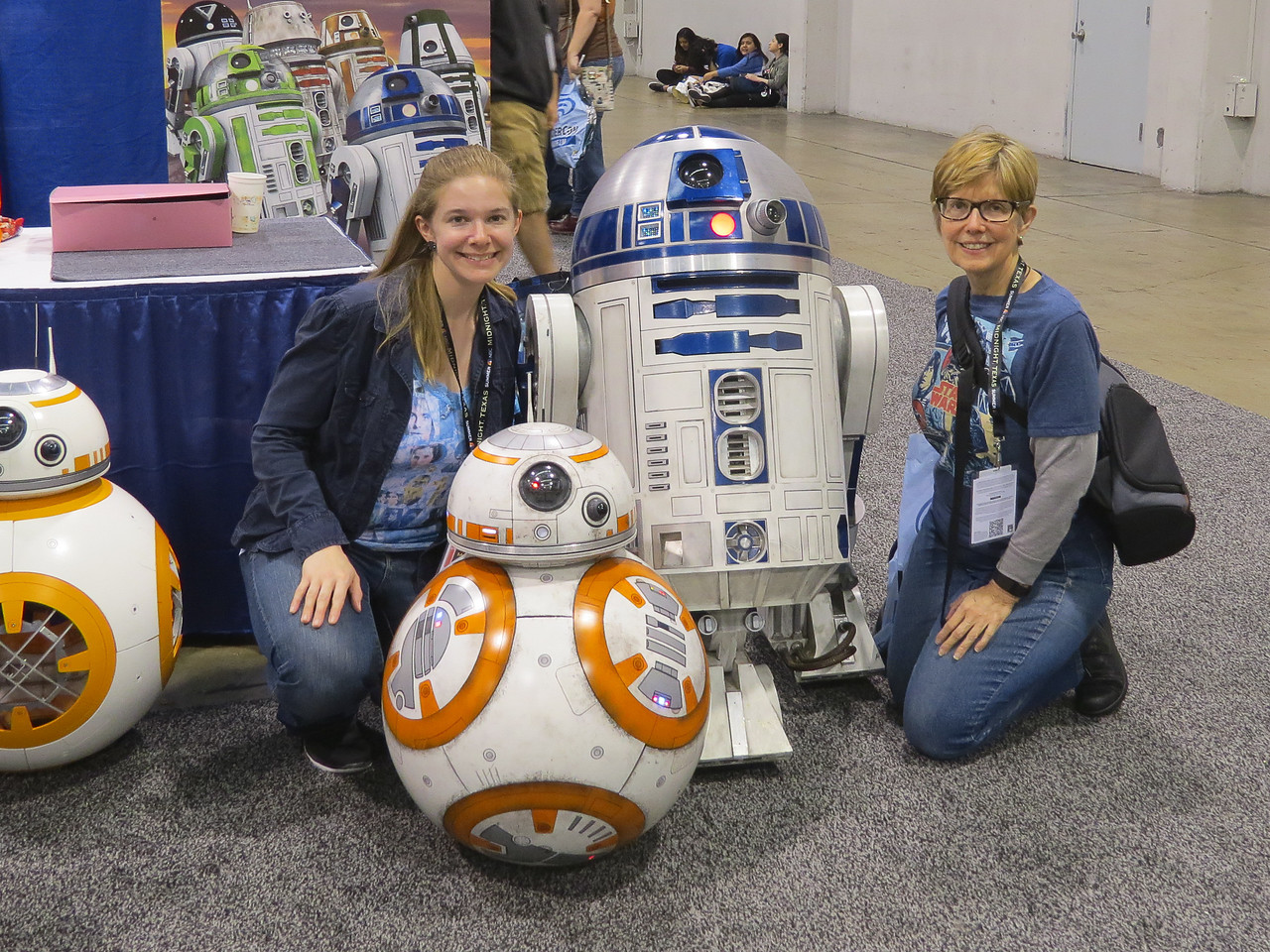 My daughter, Halley, and I at WonderCon in Anaheim