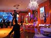 Ballroom at Standard Club set up for Bar M.