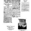 WBN Obituary; Hackensack Press, NY Tribume, grave marker