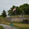 At Old Fort Erie