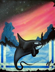 dream of Orca by Niall Wingate