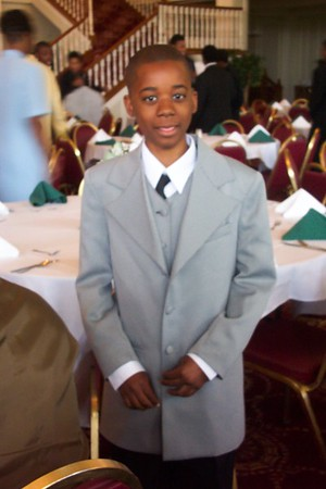 Nicholas 8th Grade promotion