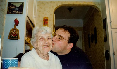 Me and my grandmother.
