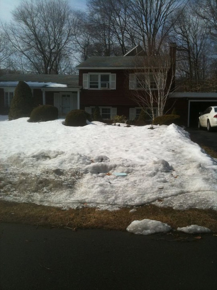 Our house on DeForest Dr, North Branford!