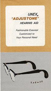 "A similar UNEX product called ""Vision-Ear"" was advertised one morning on the TODAY show -- the only national advertising Nichols & Clark did (to my knowledge)."