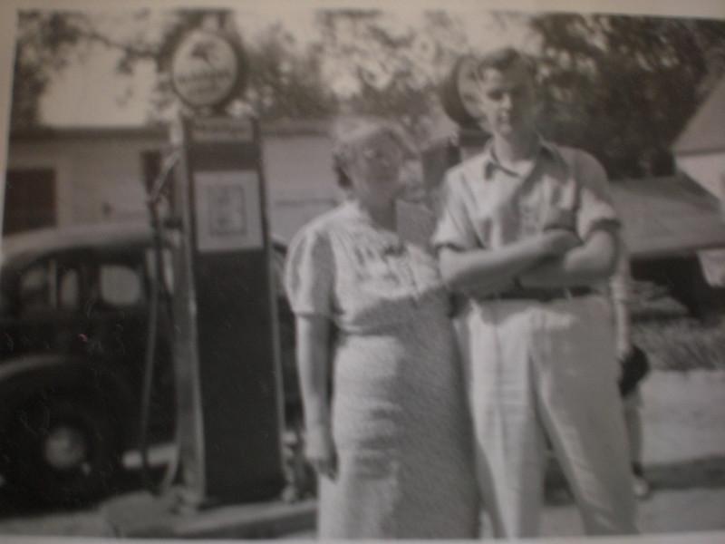 Aunt Katherine and Ken Nicholson