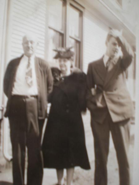 Ken Nicholson & parents