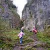 Two thirds the way up Ebbor Gorge