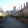 Vicar's Close in Wells - continually inhabited cottages from the 1320s! Now that is old...