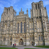 Wells Cathedral west front - awesome!