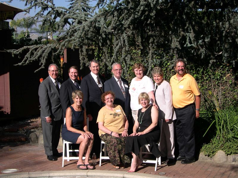 Aunts and Uncles: Sitting:  Joan Presecan, Marguerite Westin, Kathy Larkin; Standing:  Andy Westin, Bob Hirt, Steve Larkin, Bob Westin, Susan Westin, Deb Hirt, Dick Westin