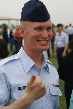 Nick's USAF BMTS Graduation 2010