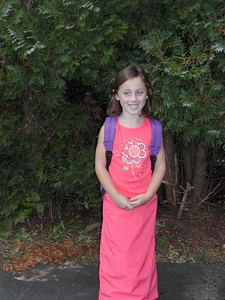 Emily ready for first grade