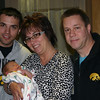 Cory, Lori and Todd with baby Maxwell ( 2011 )