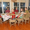 XMAS Dinner at the Nightingale's on 12-25-16