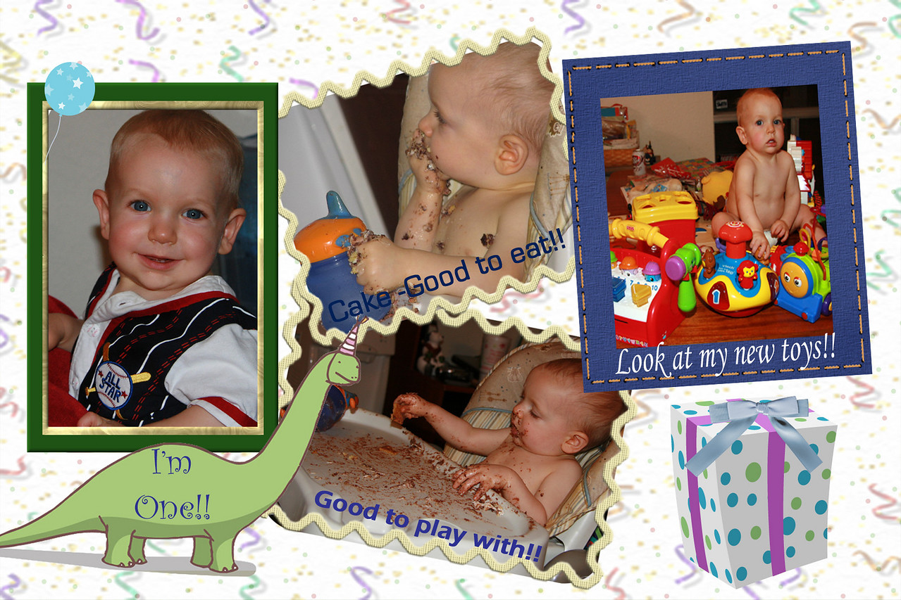 To see all of my birthday photos go to the Events Section