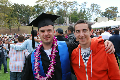 Nir's UCSB Graduation June 2011
