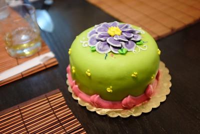 A beautiful cake