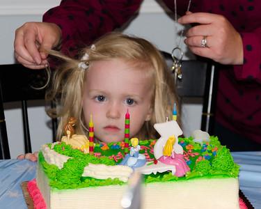 Nora turns 3